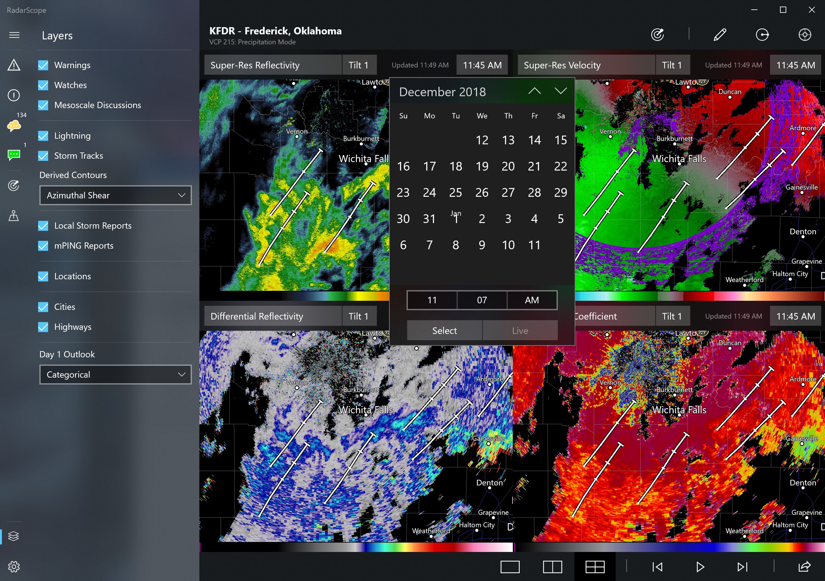 RadarScope 30-Day Archive for Windows