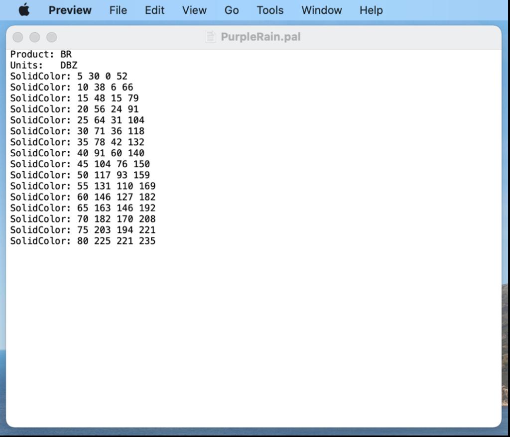 text edit color statements screenshot